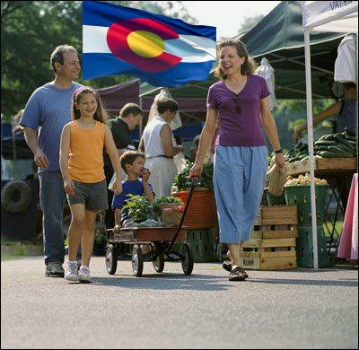 Colorado farmers market