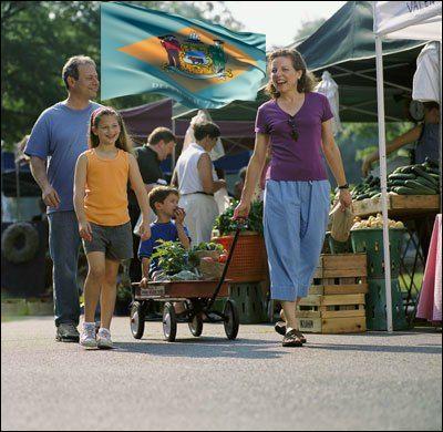 Delaware farmers market