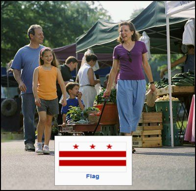 For more Washington DC Farmers Market locations click the link at the bottom of this page to return to main DC directory