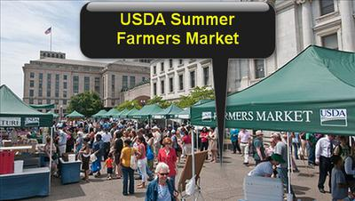USDA Summer Farmers Market 12th Street and Independence Avenue SW Washington DC 20250