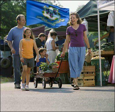 Connecticut farmers market