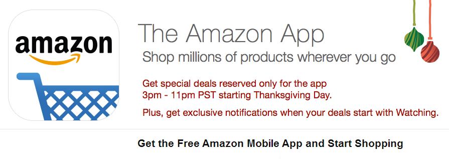 Amazon Shopping App Benefits