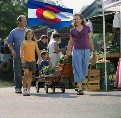 Colorado farmers market