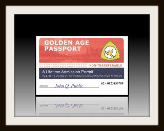 Golden Age Passports were replaced by Senior Passes on January 1, 1997.
