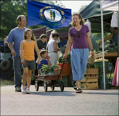 Kentucky farmers market